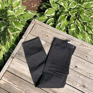 🖤 H&M   High Waisted Black Jeans — Cropped